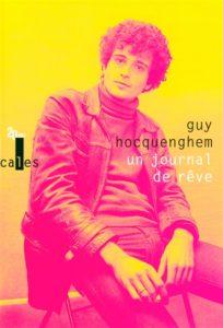 Couverture du livre Un journal de rêve de Guy Hocquenghem
