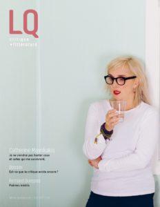 Couverture du nouveau numéro de la revue LQ, a.k.a Lettres Québécoises